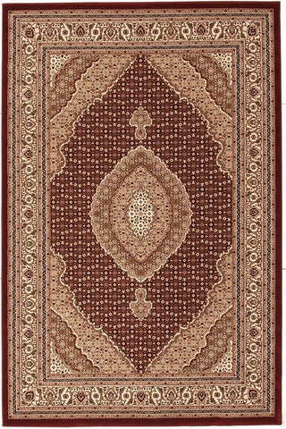 Empire Collection Stunning Formal Oriental Design Red Rug - 170x120cm