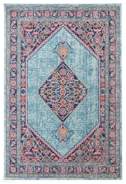 Eternal Whisper Diamond Blue Rug - 230X160cm