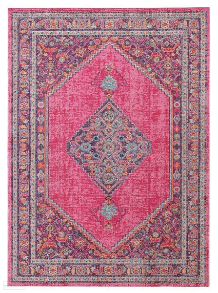 Eternal Whisper Diamond Pink Rug - 230X160cm