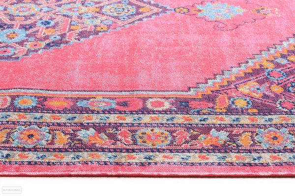 Eternal Whisper Diamond Pink Rug