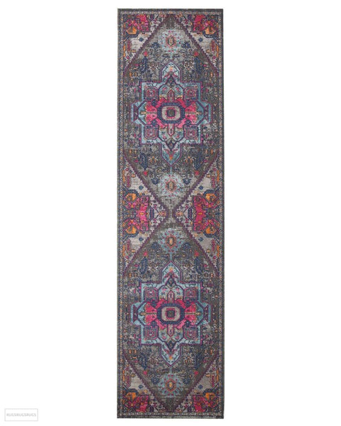 Eternal Whisper Quad Grey Rug - 300X80cm