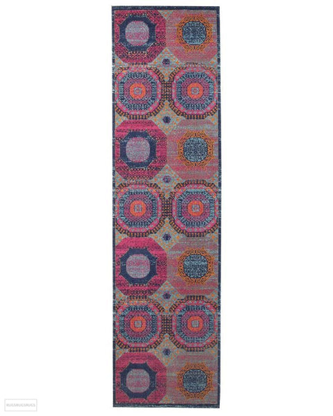 Eternal Whisper Dots Multi Rug - 300X80cm
