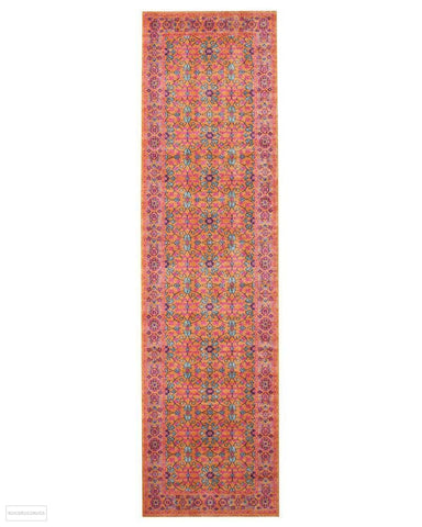 Eternal Whisper Sunset Rust Runner Rug