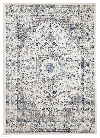 Evoke Mist White Transitional Rug - 230x160cm