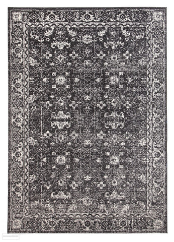 Evoke Estella Charcoal Transitional Rug - 230x160cm
