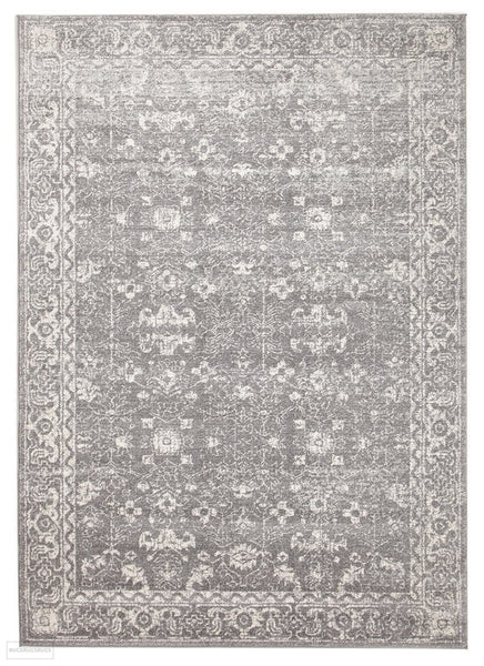 Evoke Pidgeon Grey Transitional Rug - 230x160cm