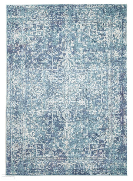 Evoke Muse Blue Transitional Rug - 230x160cm
