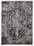 Evoke Scape Charcoal Transitional Rug - 230x160cm