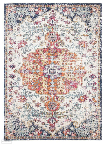Evoke Carnival White Transitional Rug - 230x160cm
