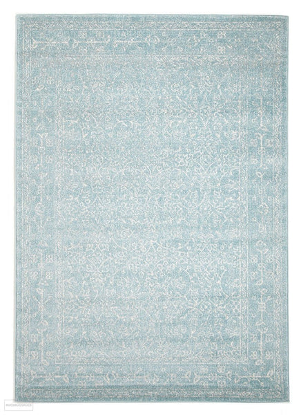 Evoke Depth Blue Transitional Rug - 230x160cm