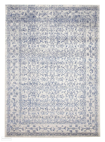 Evoke Whisper White Transitional Rug - 230x160cm