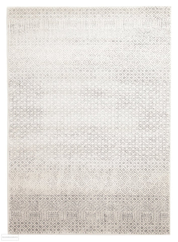 Evoke Diamond Grey Transitional Rug - 230x160cm