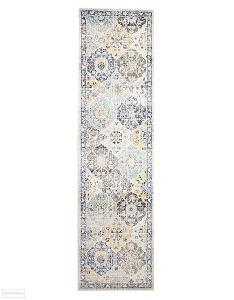 Evoke Poppy Multi Transitional Rug - 300x80cm