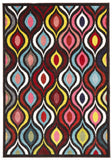 Gemini Modern 506 Multi Coloured Rug - 230x160cm
