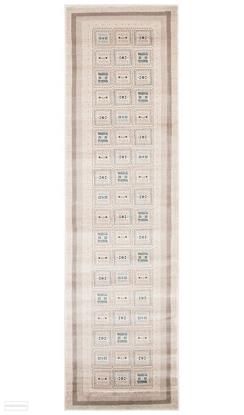 Rug Culture Heirloom 09 Cream Runner Rug