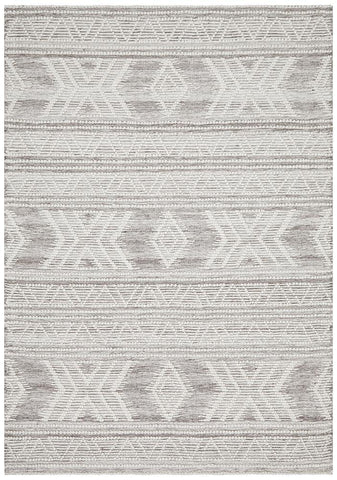 Esha Woven Tribal Rug Natural - Modern