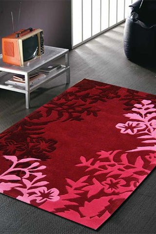Gold Collection 607 Red Rug