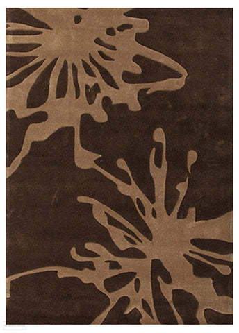 Gold Collection 609 Brown Rug