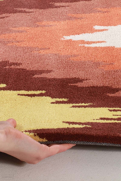 Gold Collection 630 Rust Rug