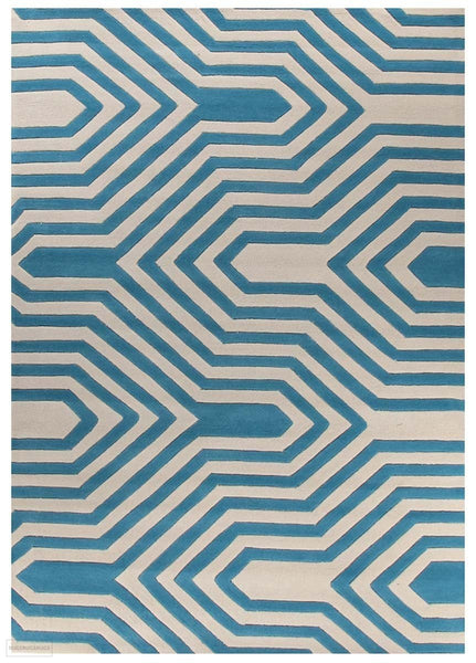 Gold Collection 631 Blue Rug