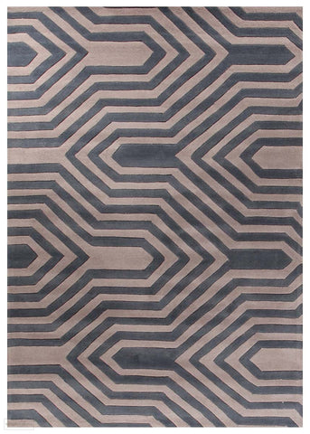 Gold Collection 631 Taupe Rug