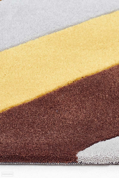 Gold Collection 636 Yellow Rug