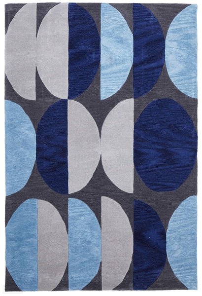 Gold Collection 651 Blue Rug