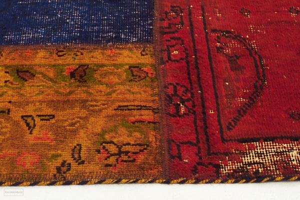 Authentic Hand Knotted Patchwork Rug - Cheapest Rugs Online - 3
