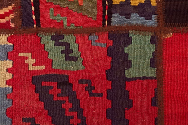 Oriental Hand Knotted Patchwork Kilim Rug - Cheapest Rugs Online - 4