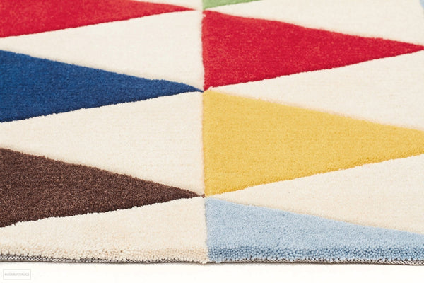 Bunting Multi Coloured Rug - Kids