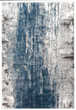Kendra Roxana Distressed Timeless Rug Blue Grey White - 230X160cm