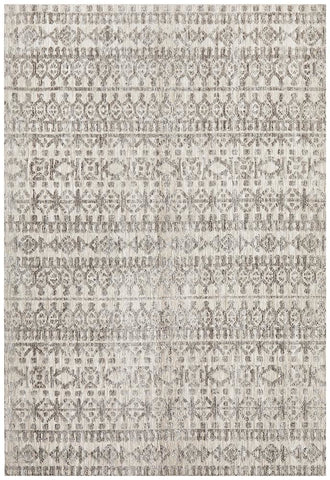 Levi Jemma Natural Grey Rug - MODERN