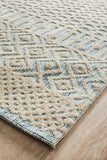 Levi Brook Blue Green Rug - MODERN