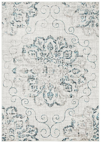 Giselle Transitional Rug Blue Grey - Modern