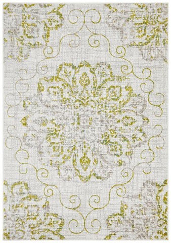 Giselle Transitional Rug Green Grey - Modern