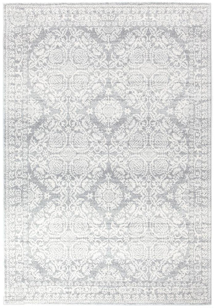 Mirage Gwyneth Stunning Transitional Silver Rug - 230x160cm
