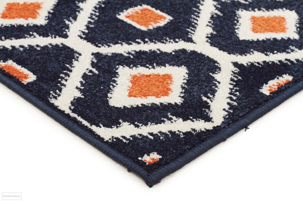 Marquee Indoor Outdoor 300 Navy Rug