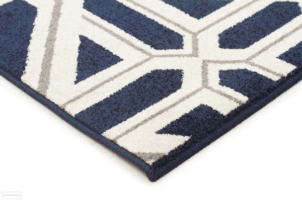 Marquee Indoor Outdoor 301 Navy Rug