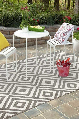 Marquee Indoor Outdoor 307 Grey Rug