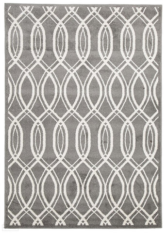 Marquee Indoor Outdoor 308 Grey Rug