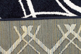 Marquee Indoor Outdoor 308 Navy Rug