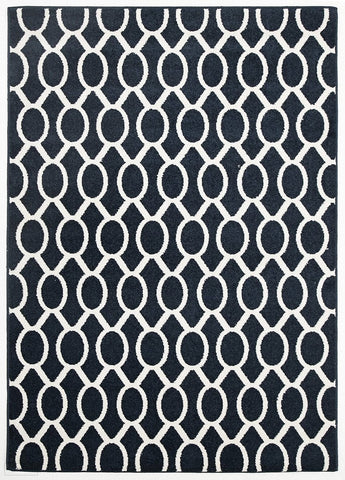 Marquee Indoor Outdoor 313 Navy Rug