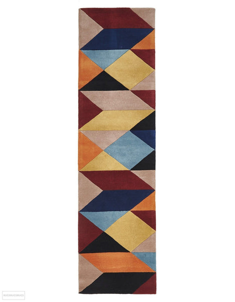 Matrix Pure Wool 904 Sunset Rug - 300X80cm