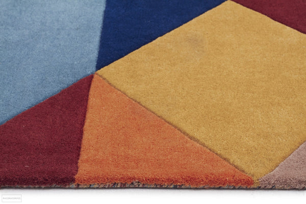Matrix Pure Wool 904 Sunset Runner Rug