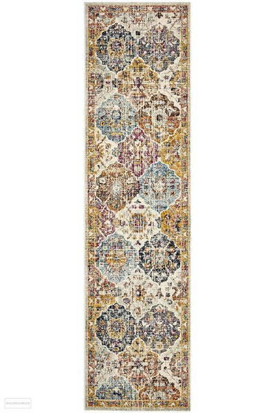 Museum Ainsley Rust Rug - 300X80cm