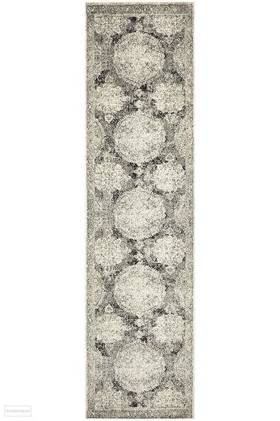 Museum Beverly Charcoal Rug - 300X80cm