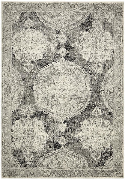 Museum Beverly Charcoal Rug - 230X160cm
