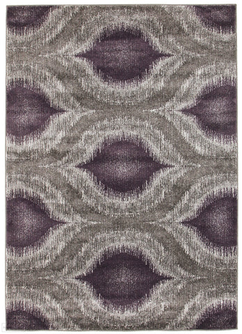 Nitro Lucid Dream Modern Rug Purple
