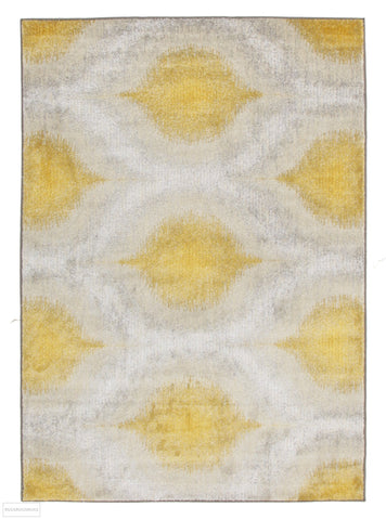 Nitro Lucid Dream Modern Rug Yellow