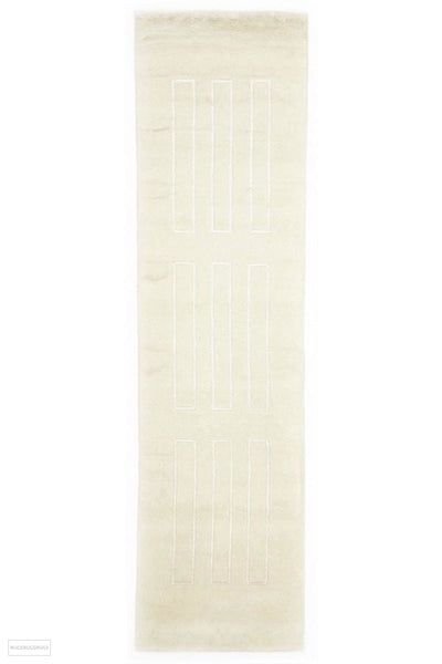 Hand Woven Spark Modern Wool Rug Ivory